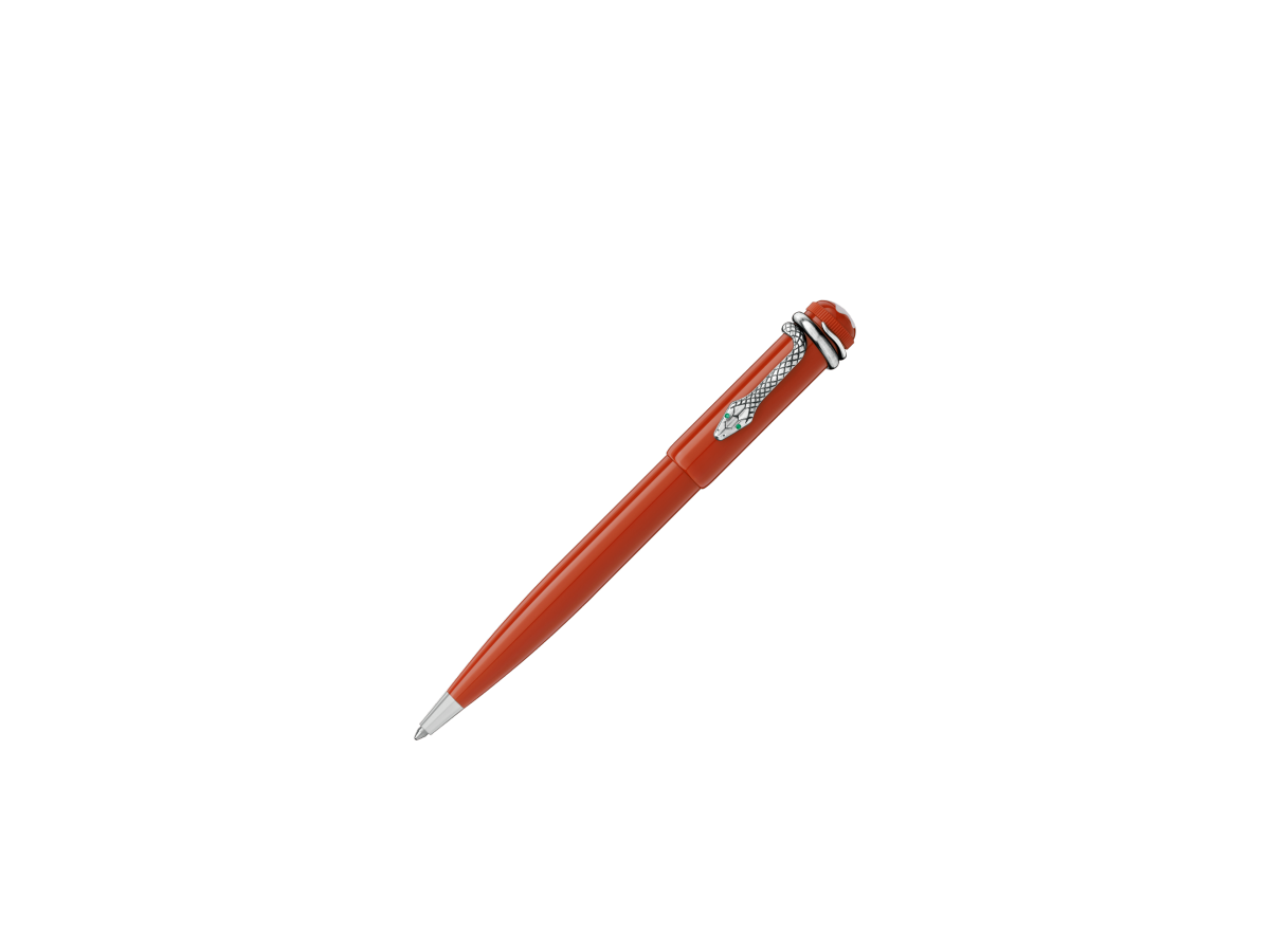 stylo plume montblanc heritage collection rouge et noir special edition